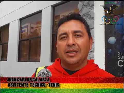 Juan Carlos Galarza delegado tecnico de la federacion boliviana de tenis