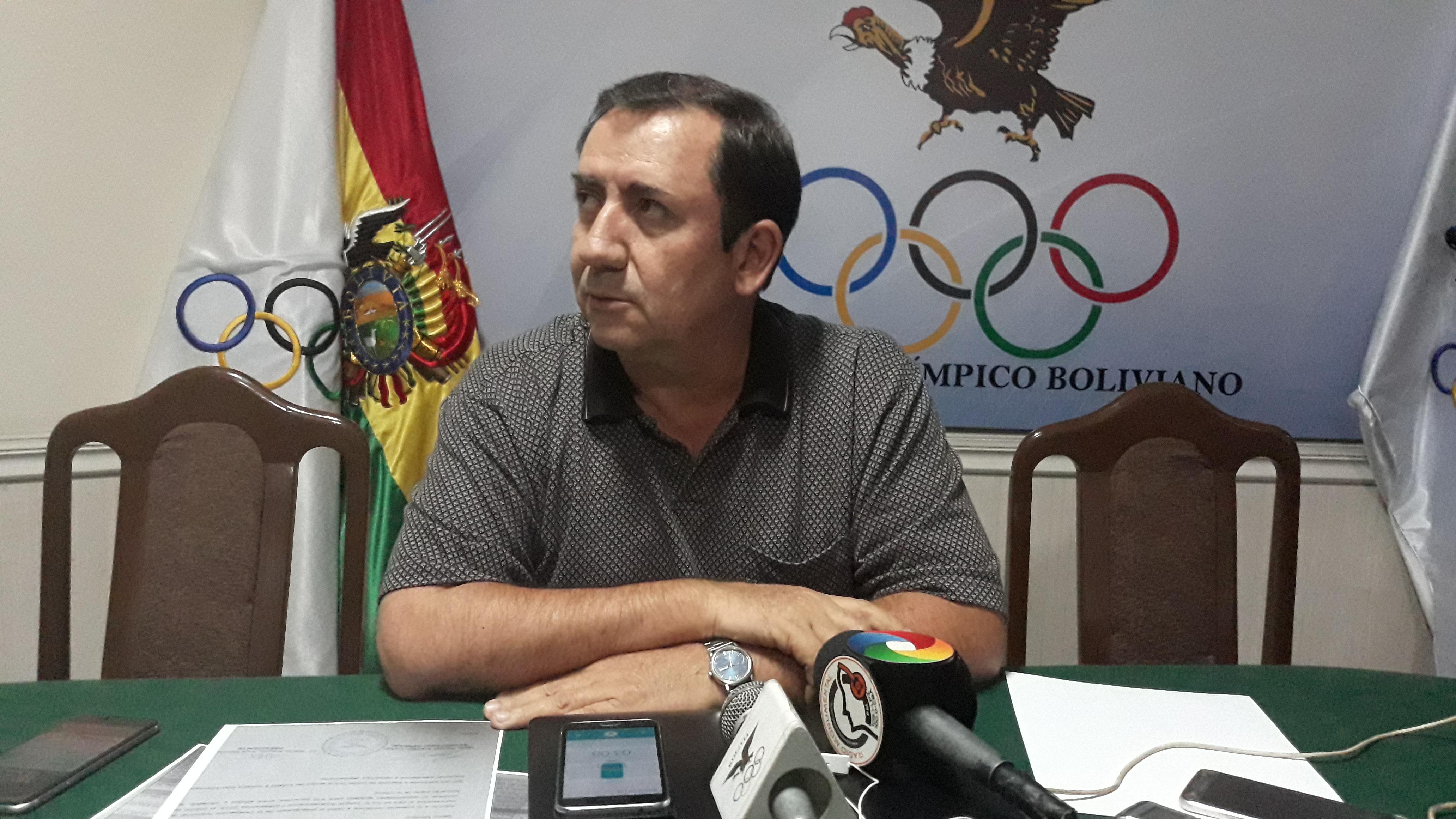 COMITÉ OLIMPICO BOLIVIANO PIDE APOYO AL MINISTERIO DE DEPORTES PARA LA PREPARACIÓN DE ATLETAS