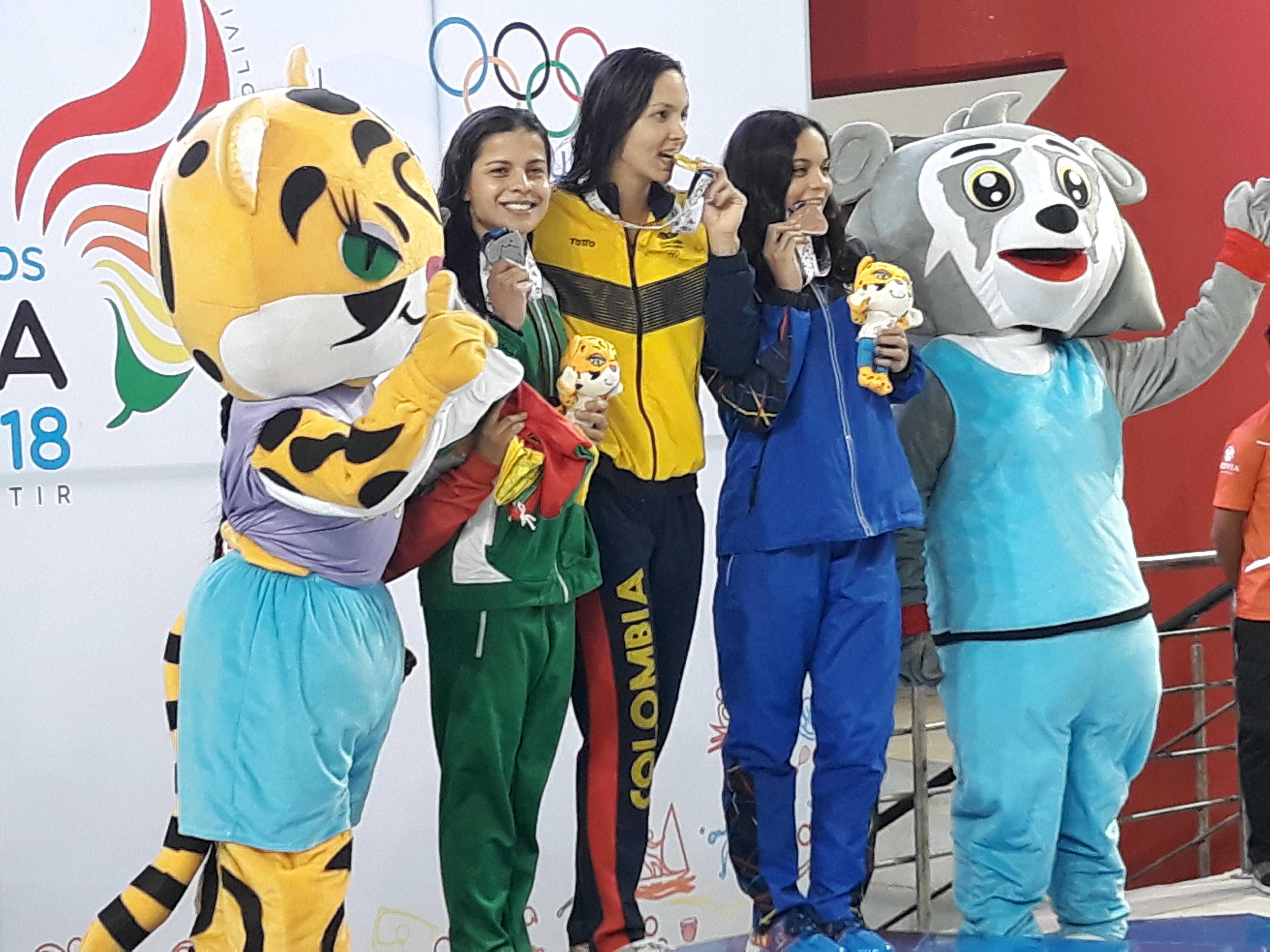 Torrez suma tres medallas de plata en los JJSS 2018