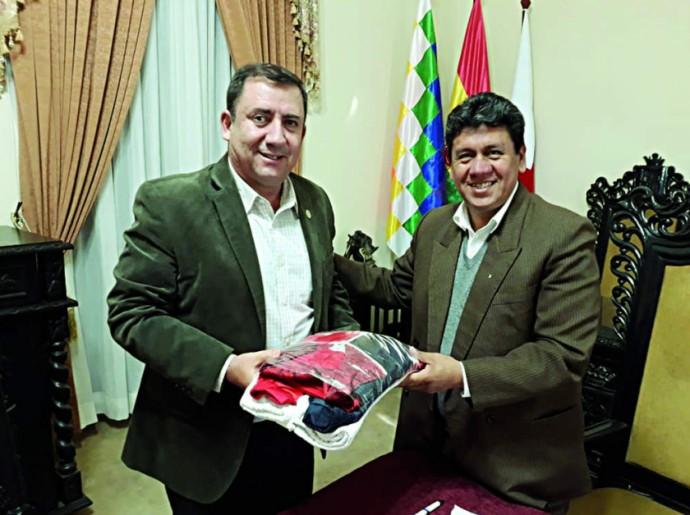 COB se reúne con el Alcalde de Sucre con miras a los Bolivarianos 2020
