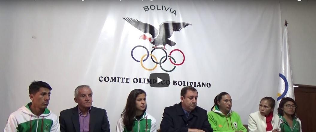 Comité Olímpico Boliviano entregó becas como parte del programa de Solidaridad Olímpica