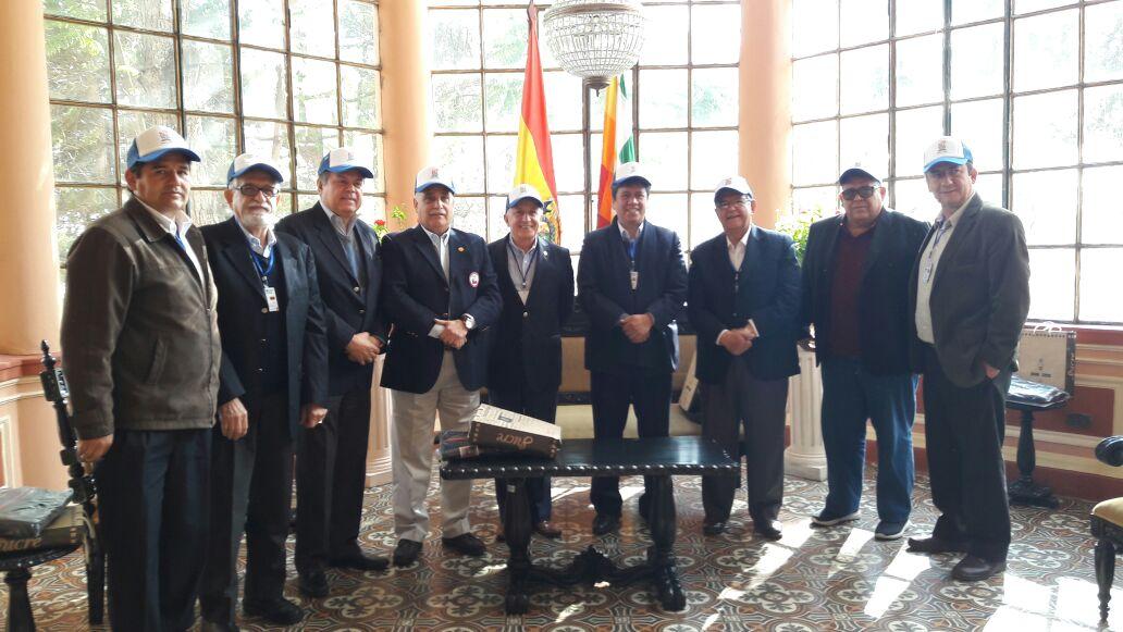 ODEBO se encuentra en Sucre con miras a los Bolivarianos de la Juventud 2020