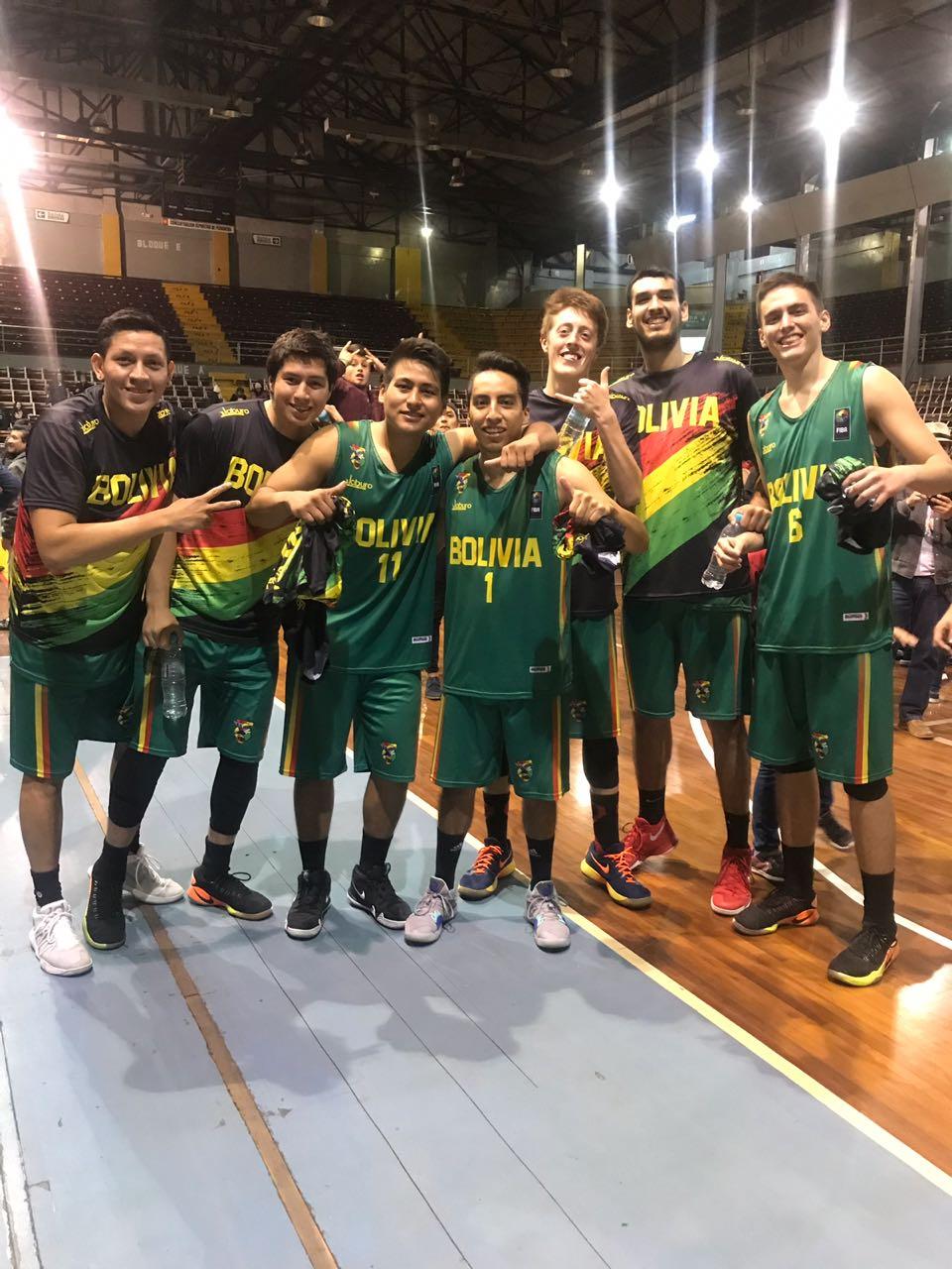 Bolivia avanza al pre clasificatorio de la Copa América de baloncesto 2021