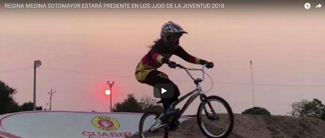 Regina Medina Sotomayor paticipará en la disciplina de los JJOO de la Juventud 2018