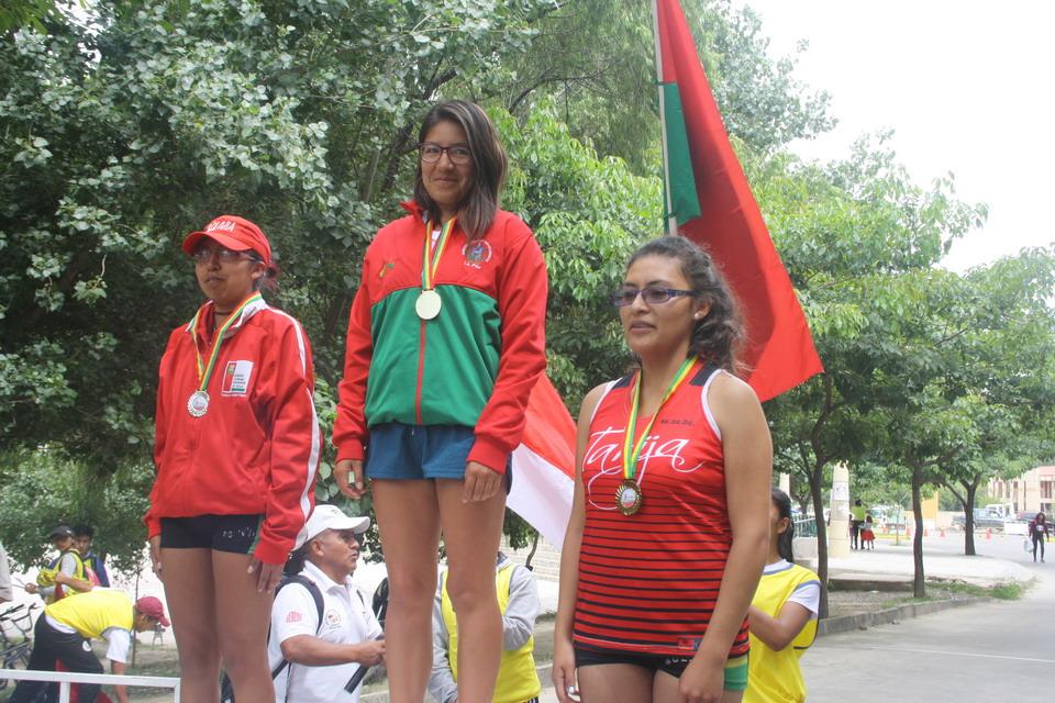 La Paz gana el nacional de marcha