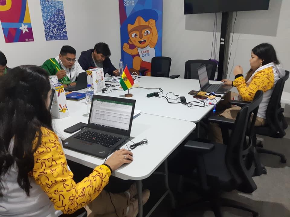 Jefatura de Misión ya se encuentra en Lima ultimando detalles previo a los Panamericanos