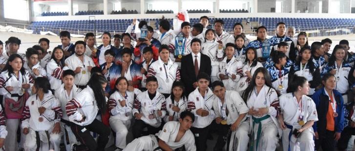 Chuquisaca se corona como en el nacional de Karate Kyokushin