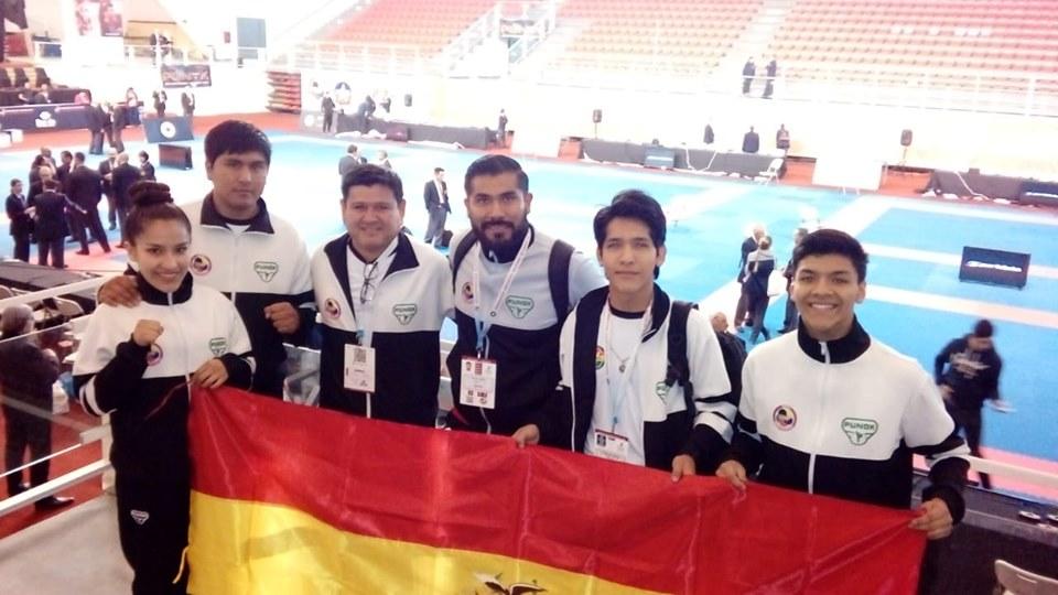 Bolivia presente en el XI Mundial Junior & Under 21 Santiago 2019