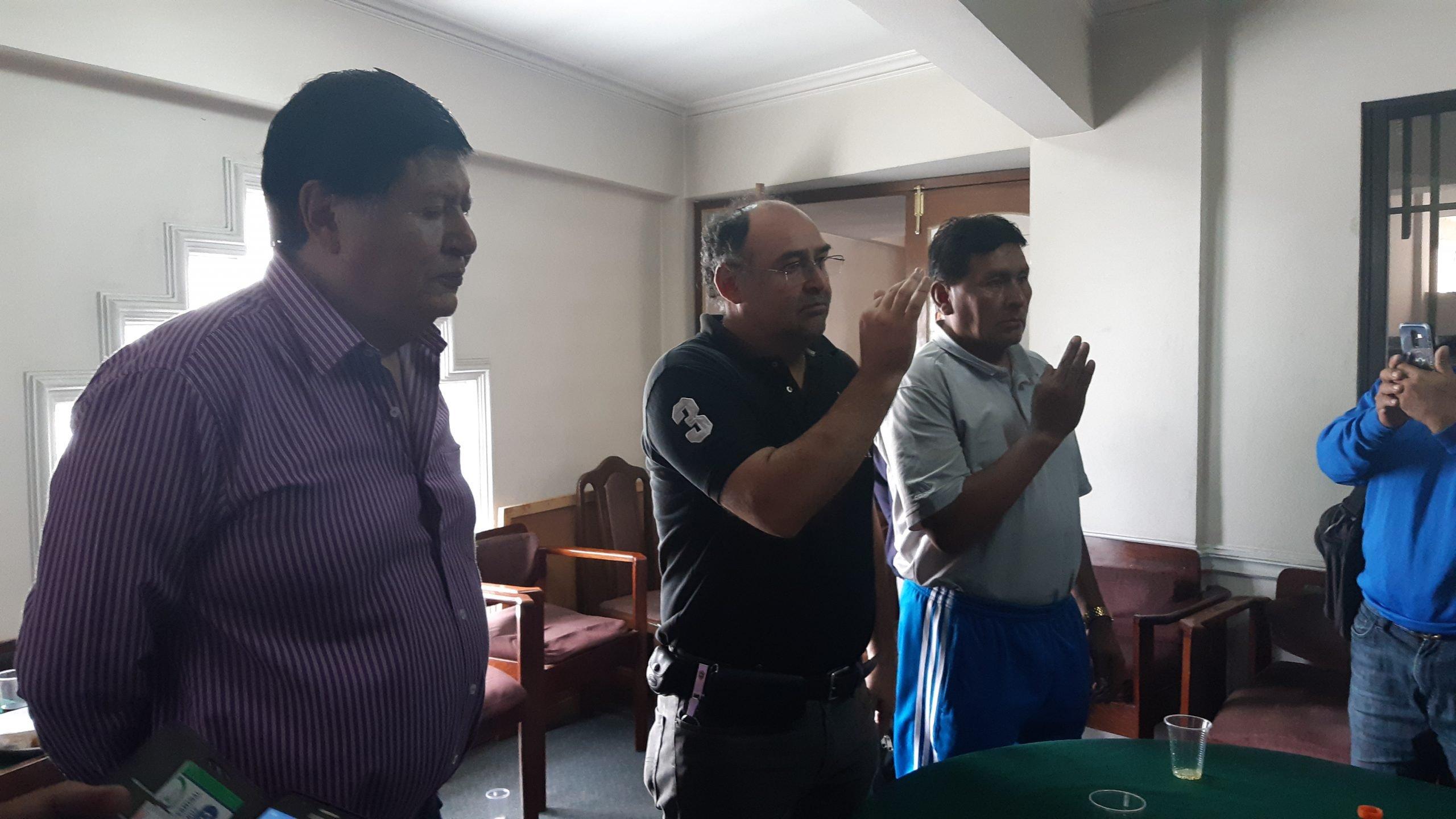 Federación Boliviana de Pelota de mano, paleta y raqueta  vivió nuevas elecciones