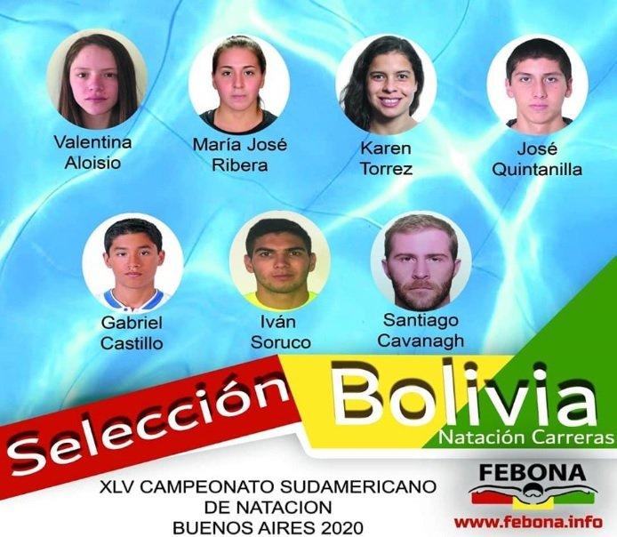 Siete nadadores estarán presentes en el Sudamericano Absoluto