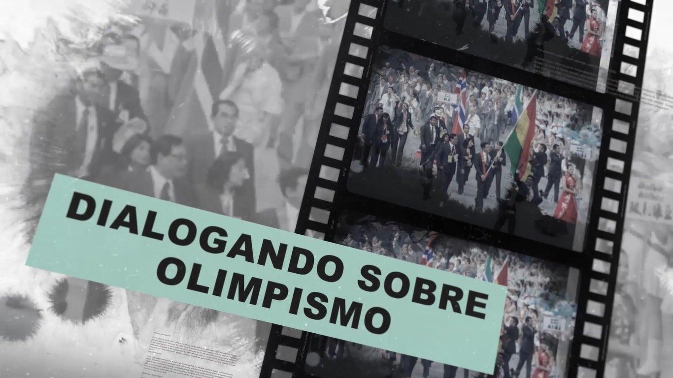 """""""Dialogando sobre Olimpismo"""",  una producción del Comité Olímpico Boliviano"""