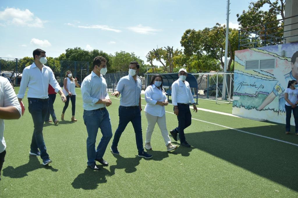 Se realizó inspección a  los escenarios para los XIX Juegos Bolivarianos Valledupar 2022