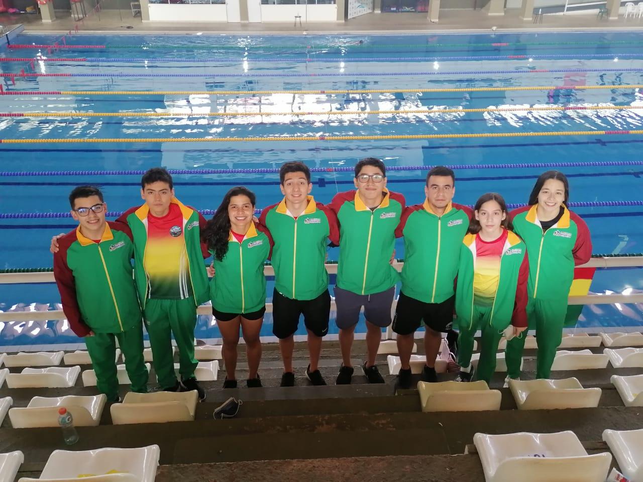 Bolivia logró 8 medallas de oro en el Grand Prix Internacional SYC de natación