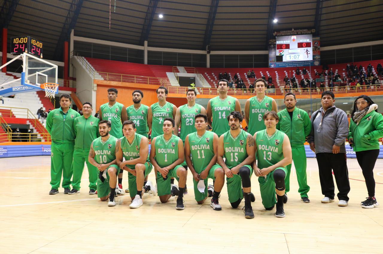 Selección Nacional de Básquetbol jugó amistoso en Potosi